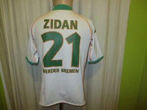 Werder-Bremen-Original-Kappa-Heim-Trikot-2004-05-034-KIK-034-Nr-21-Zidan-Gr-S-M