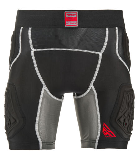 Fly Racing Barricade Motorcycle Dirtbike Compression Shorts Adult