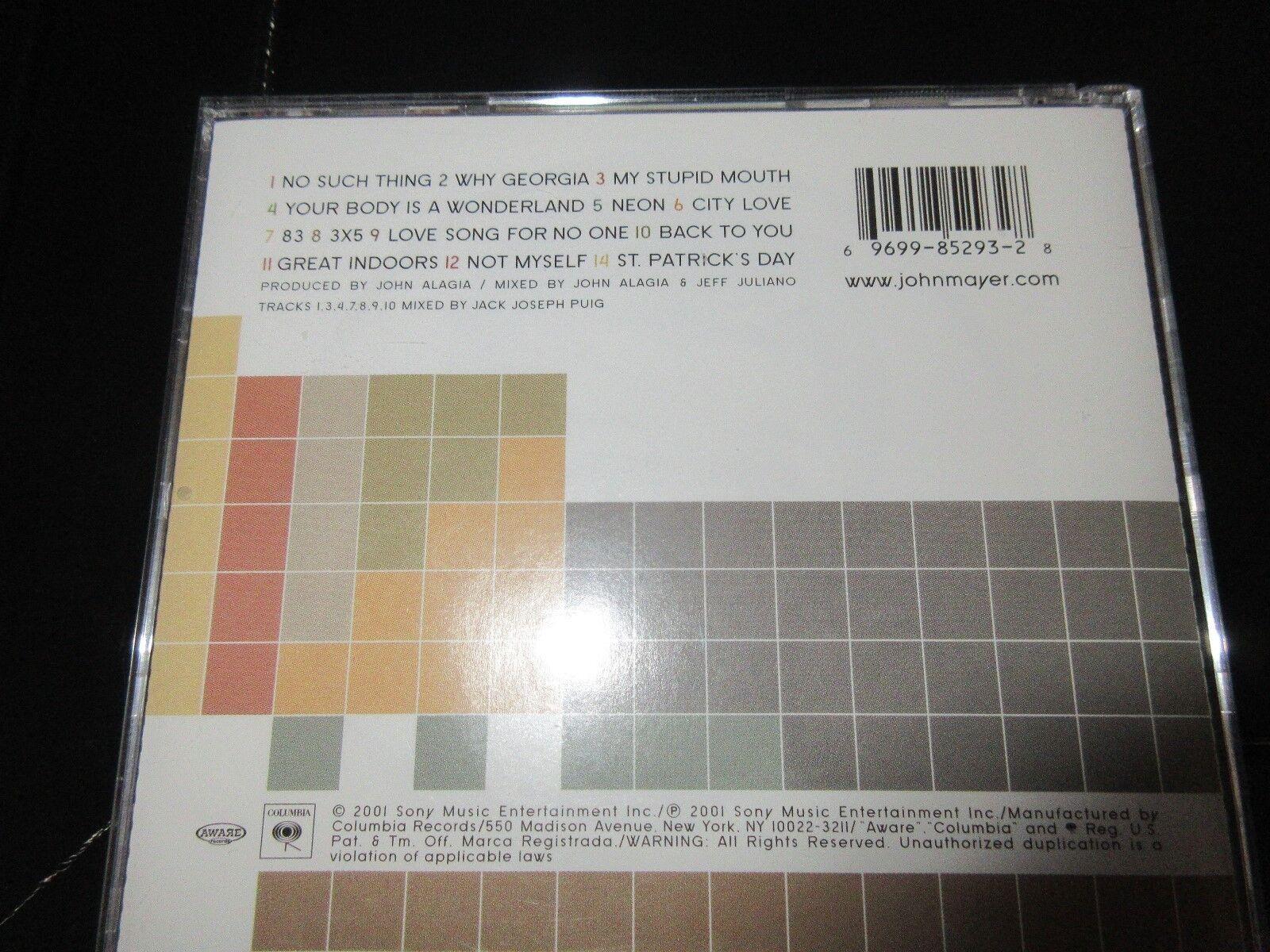 John Mayer , Room For Squares , CD