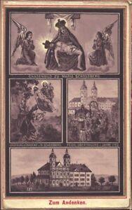 Maria-Schosberg-Eslovaquia-Hungria-Bohemia-Wallfahrt-Recuerdo-Estampa-B-5059