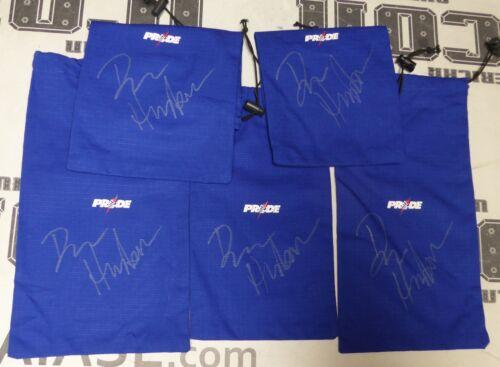 Dan Henderson Signed Pride FC Glove Bag PSA//DNA COA UFC 100 204 Champ Autograph