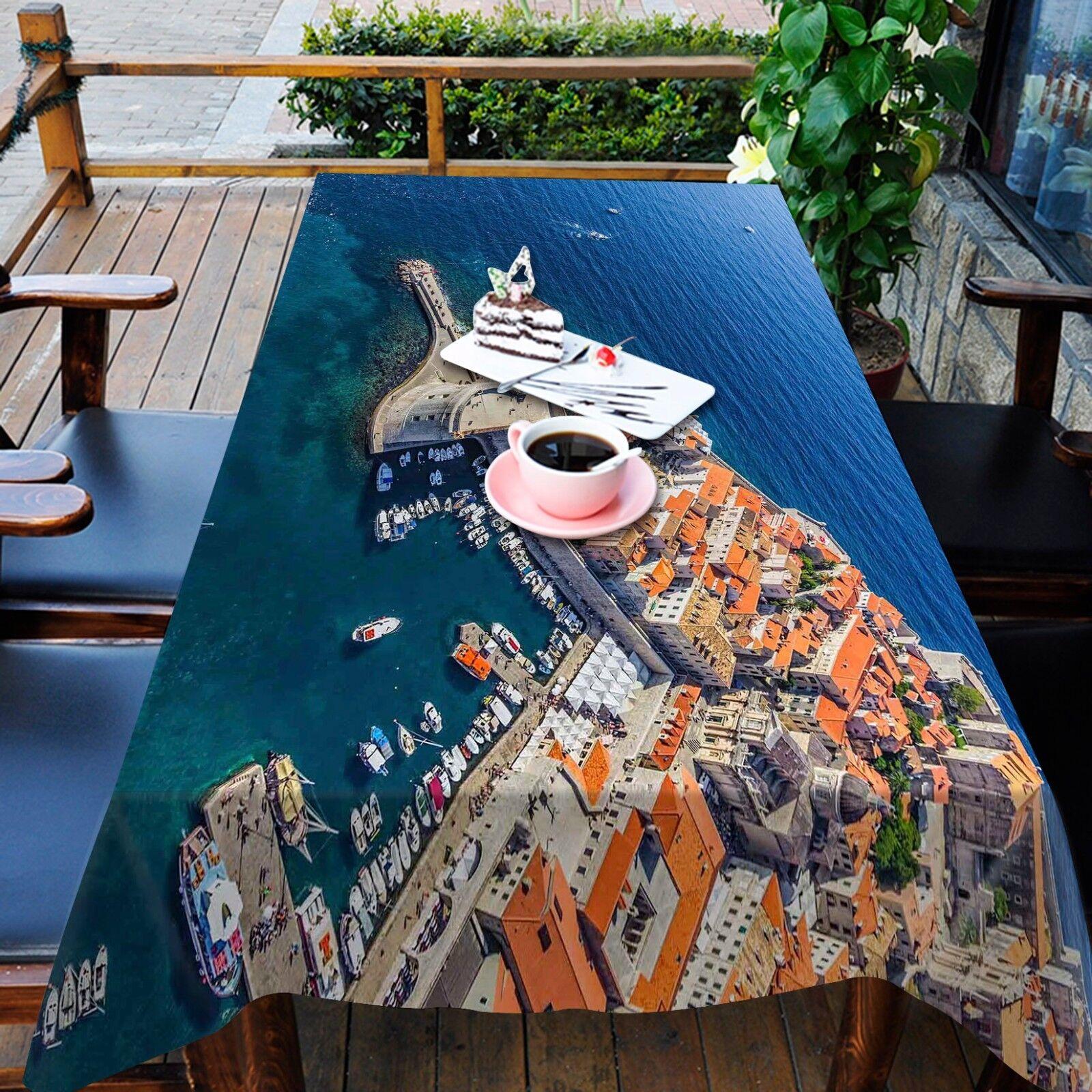 3D Sea City 253 Tablecloth Tablecloth Tablecloth Table Cover Cloth Birthday Party Event AJ WALLPAPER 395e68