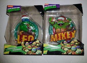 Ninja Turtle Christmas Tree.Details About Nip Teenage Mutant Ninja Turtle Leo Mikey Christmas Tree Ornament Nickelodeon