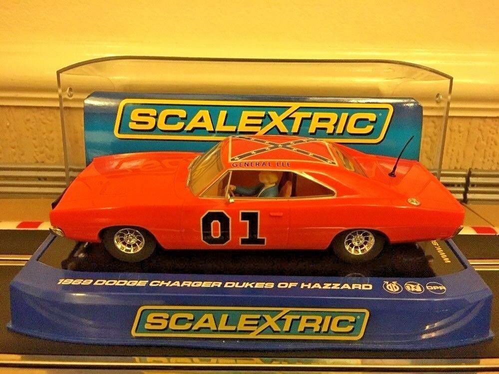 Scalextric Dukes of Hazard 1969 Dodge Charger C3044 Car Mint & Unused