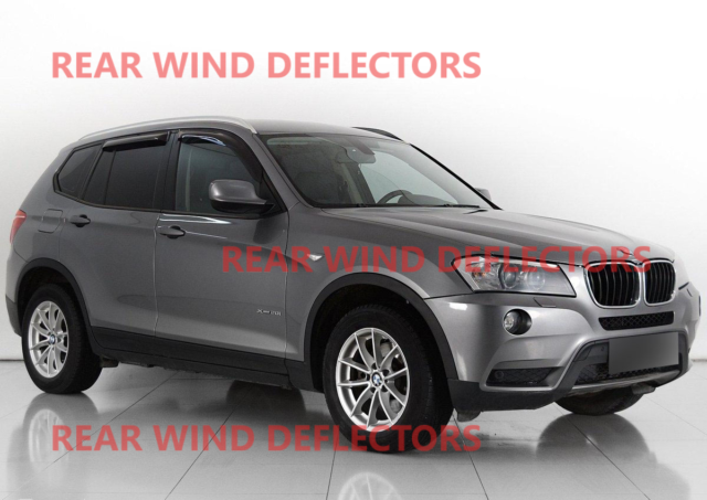Heko 28238 Wind Deflectors