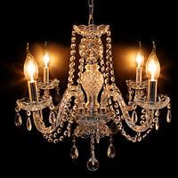 Crystal Chandelier Lamp Modern Ceiling Light Pendant Fixture Dining Room Bedroom