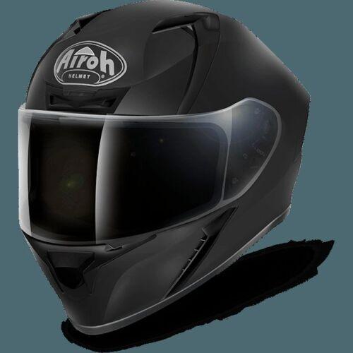 CASCO HELMET INTEGRALE AIROH 2017 VALOR COLOR BLACK MATT NERO OPACO MOTO