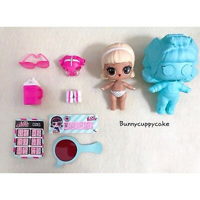 LOL surprise DOLL series 4 Eye Spy Under Wraps Drag Racer  Color Changer