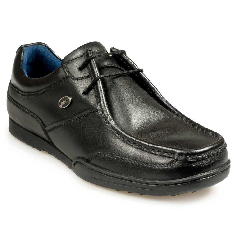 Pod PROTEUS LINEA uomo scarpe SCUOLA/LAVORO in Nero