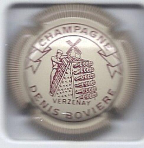 Capsule de champagne Boviere Denis  N°1 Créme Striée