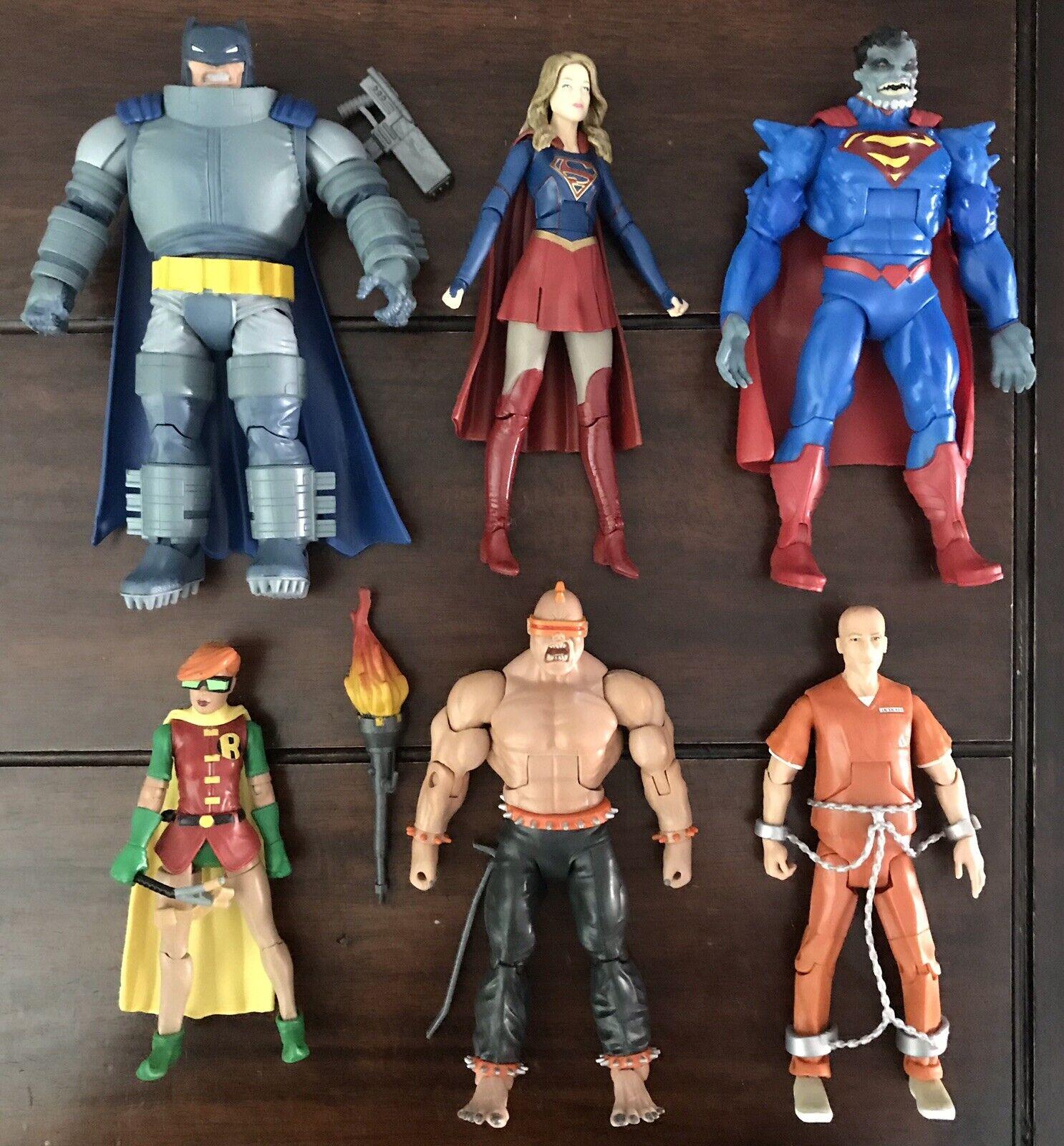 DC Comics Multiverse 6  Doomsday Wave 6 Figura Set-No Baf - 100% completo Suelto