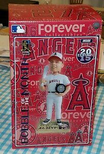 Mike Trout Angels 2015 MVP Bobblehead of the Month Limited Edition only 262