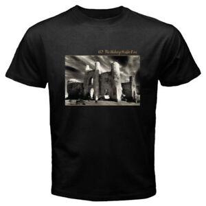 New U2 The Unforgettable Fire Album Rock Band Men's Black T-Shirt Size S-3XL