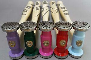 Texturizado-Martillo-De-Metal-2-piezas-4-patrones-de-diseno-Repousse-Joyeria-modelado-5-Colores
