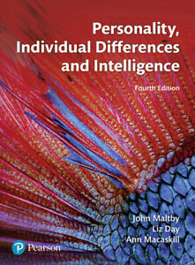 Personality, Individual Differences and Intelligence (Portofrei) - Bornheim, Deutschland - Personality, Individual Differences and Intelligence (Portofrei) - Bornheim, Deutschland