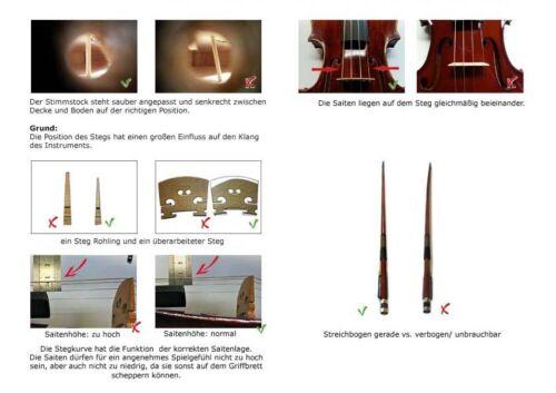 Sinfonie24 1//32 Geigen-// Violinenset für Kinder// Schüler Basic I