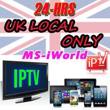 UK 36-HR Trial IPTV Subs For Openbox V8S V9S Mag 250 254 256 Samsung LG TV Xbox