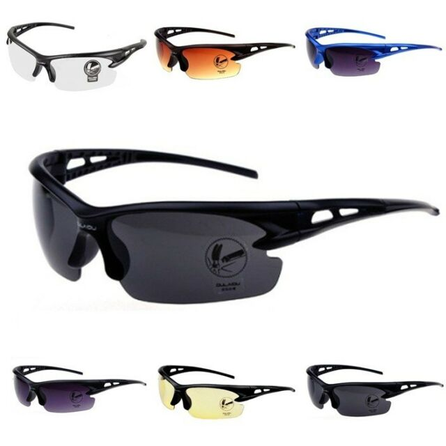 Security Explosion-proof UV 400 Sunglasses Outdoor Sport Cycling Glasses Goggles