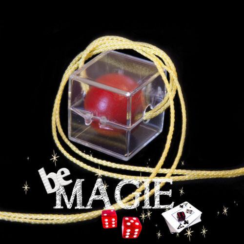 Balle Houdini Tour de magie Crystal Cube