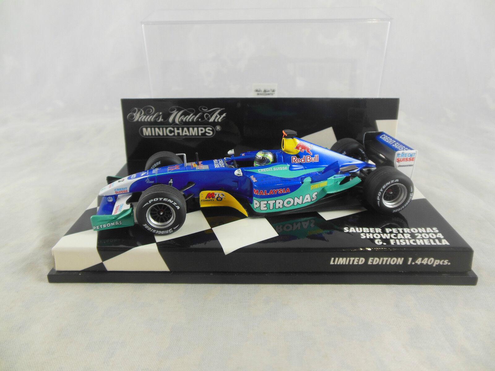Minichamps 400 040081 Sauber Petronas ShowCoche 2004 G Prix Racing Nº 11