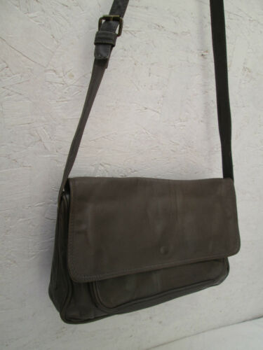 Authentique beg Enny Main À Enjoy Sac Bag Vintage Cuir t SxS1TU