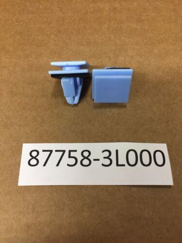 Set of 15 Blue Nylon Rocker Panel Molding Clips Sealer Fits Hyundai 87758-3L000