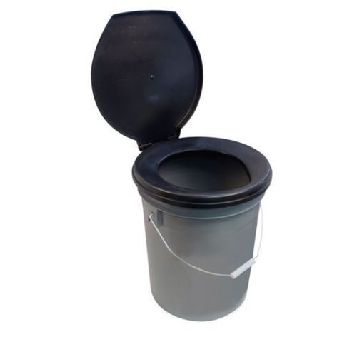 Leisurewize Need A Loo Camping Toilet Bucket With Seat Lid Lwacc31