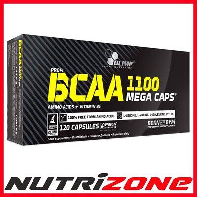 Gut Olimp Bcaa 1100 Extreme Anticatabolic Amino Acid Leucine Vit B6 Pre Workout Caps