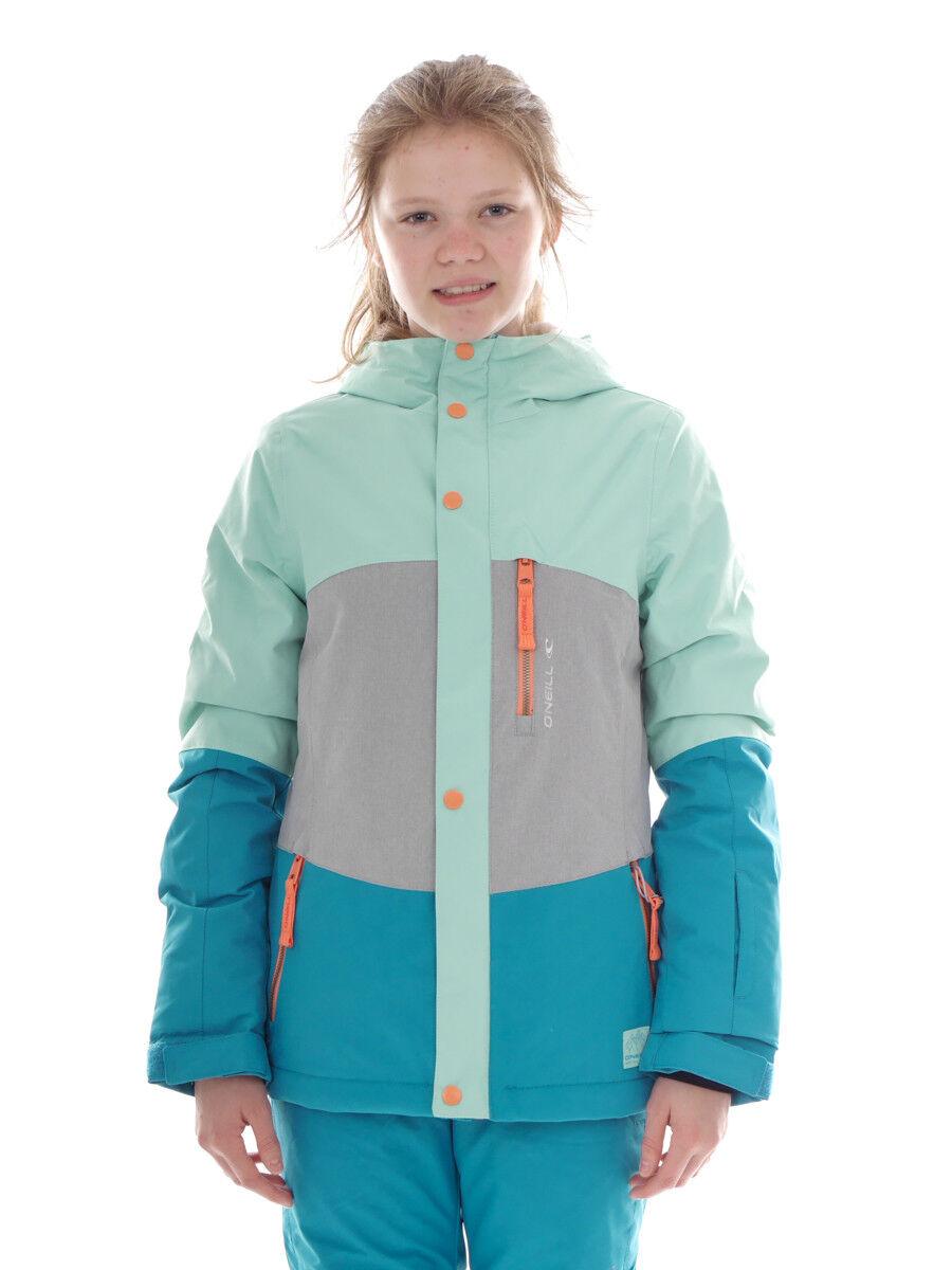 O'Neill Chaqueta Esquí Snowboard Coral verde Capucha Color Skipass Logo