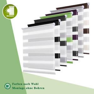 Rollos-ohne-Bohren-Duo-Rollo-Doppelrollo-klemmfix-Fensterrollo-Seitenzugrollo