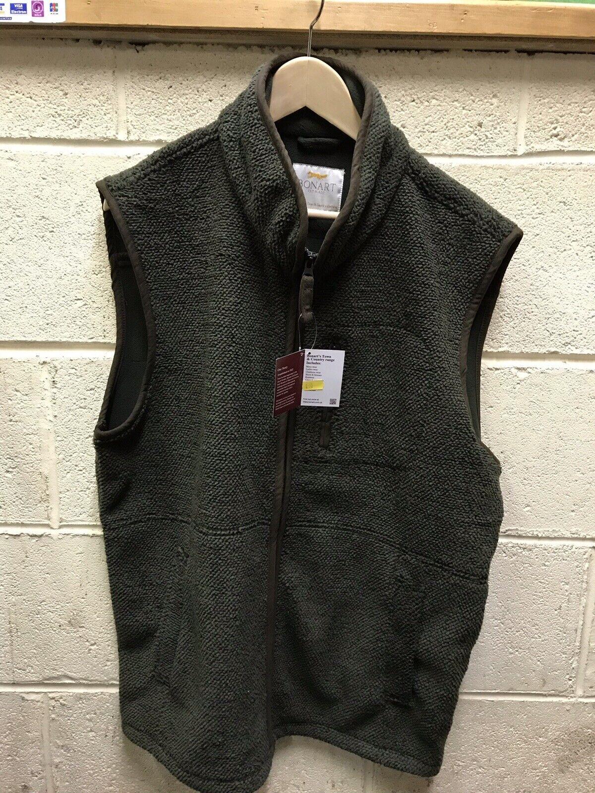 Bonart Haywood Fleece Gilet  Green XL and 2XL