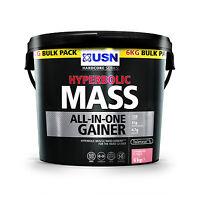 Usn Hyperbolic Mass 2kg Or 6kg Protein Weight Gainer