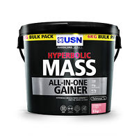 Usn Hyperbolic Mass 2kg Or 6kg Protein Weight Gainer