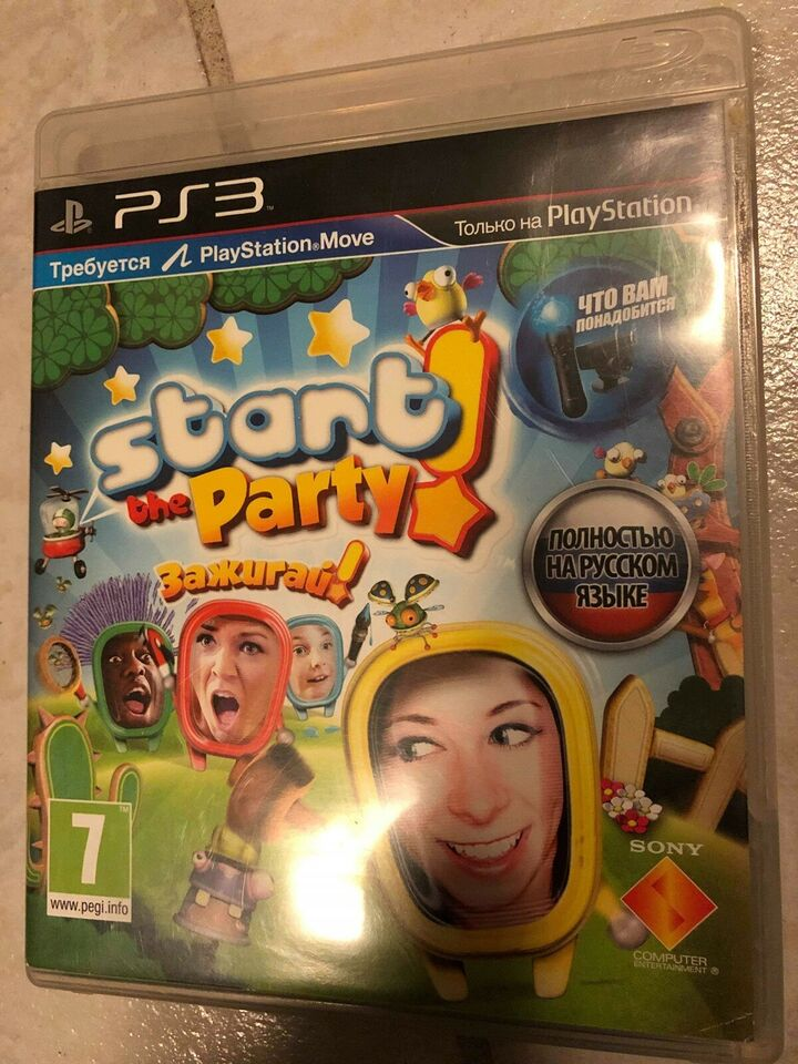 Start the party, PS3, anden genre