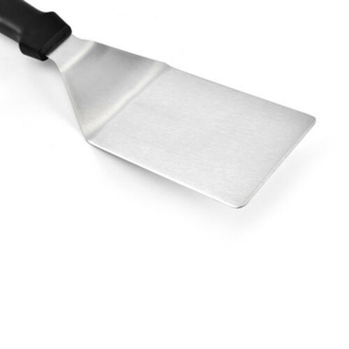 Stainless Metal Spatula Turner Flat Burger Pancake Pizza Griddle Grill Flipper