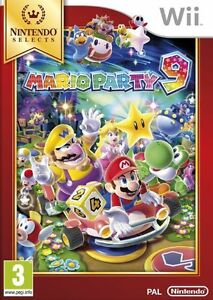 Mario-Party-9-Wii-Game-Nintendo-Brand-New-Sealed-in-Stock
