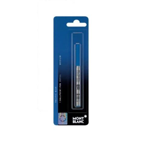 M Blister MONT BLANC Kugelschreibermine pacific blue