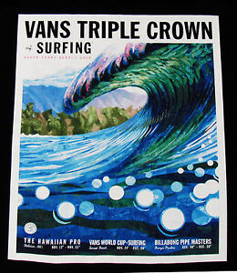 f8ab8412b0 This Winter 2016 17 Triple Crown Surfing Hawaii Contest Black Tank ...