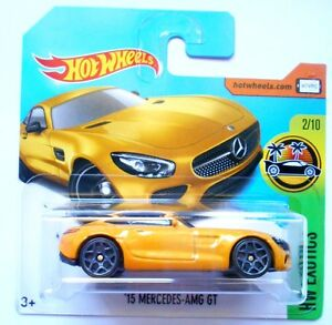 HOT-WHEELS-039-15-MERCEDES-AMG-GT-HW-EXOTICS-2017-MATTEL-R