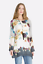NWT-JOHNNY-WAS-Blouse-LINDEN-TOP-Tunic-CROCHET-Printed-EYELET-Dress-S-228 thumbnail 1