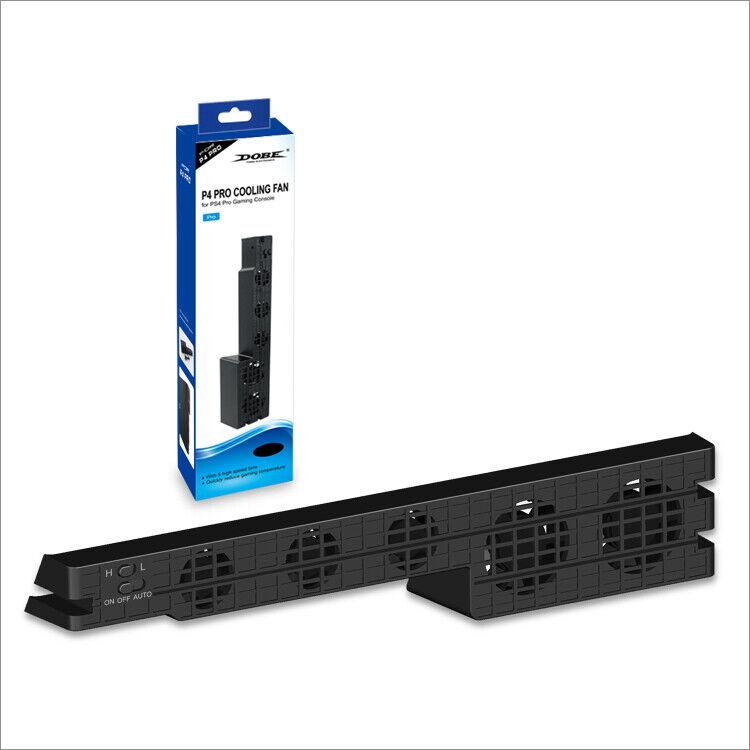 DOBE PS4 Pro External Cooling Fan - Turbo Cooler Black for Playstation 4 Pro