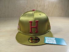 HUF HOLLISTER 1200 NEW ERA FITTED HAT SAMPLE 49ERS NEW GOLD 7 1/4 LIMITED