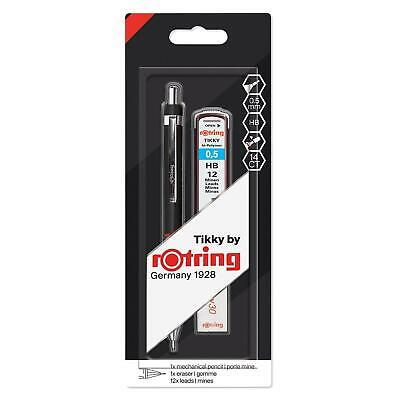 HB Rotring 312650 Tikky hi-Polymer Lead Refills 0.5 mm