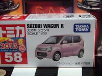 Tomica 58 Suzuki Wagon R 1/58 Scale In Box