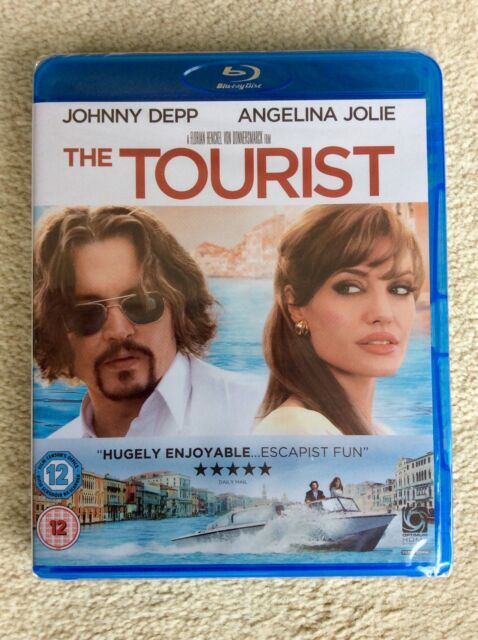 The Tourist (Blu-ray and DVD Combo, 2011, 2-Disc Set) Brand New / Factory Sealed