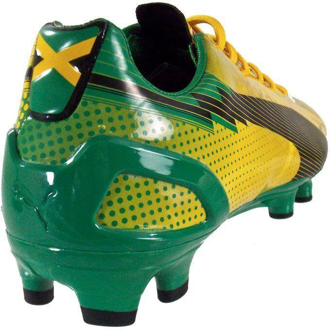 Puma EVOSPEED 3 CEDELLA MARLEY FG JAMAICA Soccer Football Cleat Stiefel SchuheSz11.5
