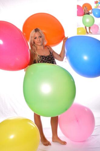 "30x 28/"" Riesen- Ballon BUNT ** weich ** Riesen- Luftballon 70cm Ø 30x 220er"