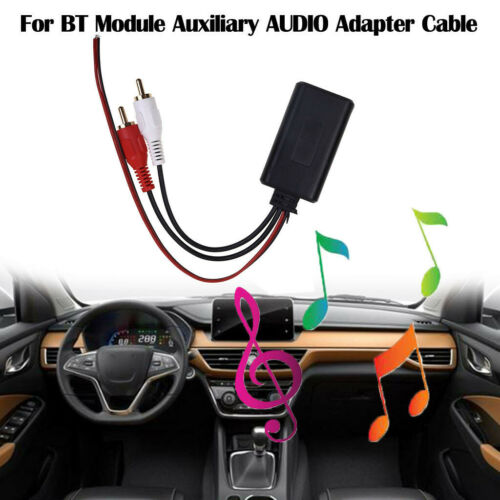 Car Music Module Stream Auxiliary AUDIO Adapter Cable 2RCA Interface Parts/_AUS