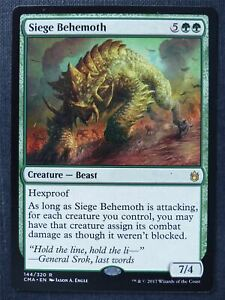 Siege Behemoth - Mtg Magic Card #SW