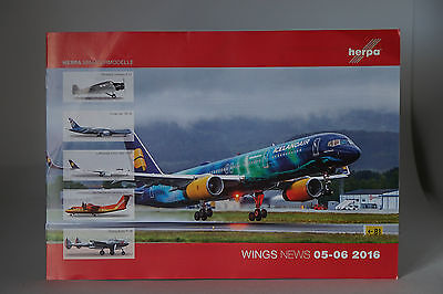 Intellective Herpa Wings News 05-06 2016 7 Pagine Catalogo